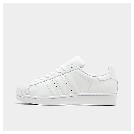 Adidas Mens Superstar Casual Shoes, White