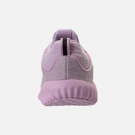 Back view of Girls' Preschool adidas AlphaBounce EM Running Shoes in Aero Pink/Chalk White/Aero Pink