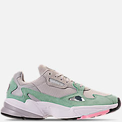 b383614332241 Women s adidas Originals Falcon Suede Casual Shoes