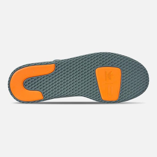 339c0621a1fd5 Bottom view of Boys  Big Kids  adidas Originals Pharrell Williams Tennis HU  Casual Shoes