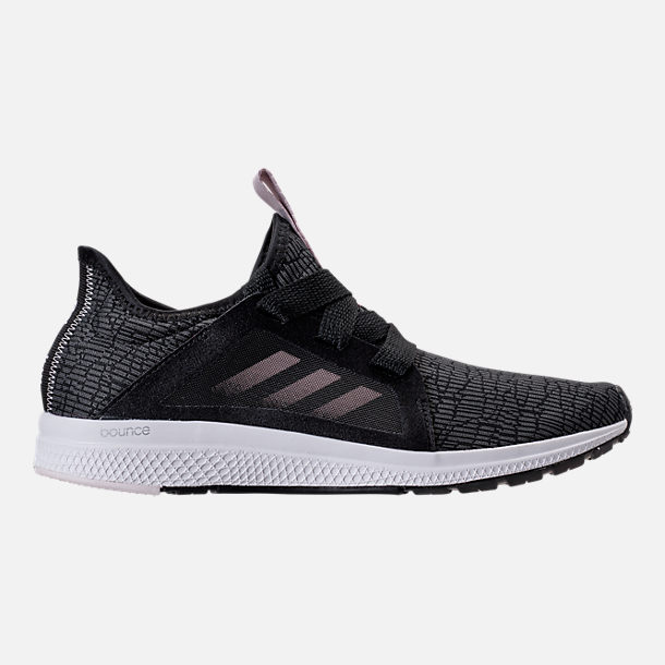 Right view of Women's adidas Edge Lux Running Shoes in Black/Ash Pearl/White