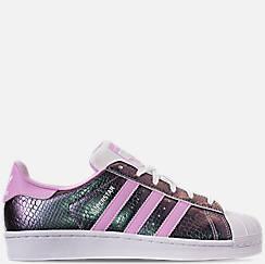 Girls' Grade School adidas Superstar Casual Shoes