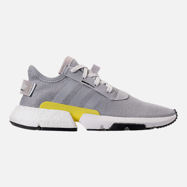 c1a32738930 Right view of Men s adidas Originals POD-S3.1 Casual Shoes in Grey