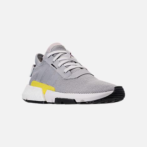 26bd64d43aca Three Quarter view of Men s adidas Originals POD-S3.1 Casual Shoes in Grey