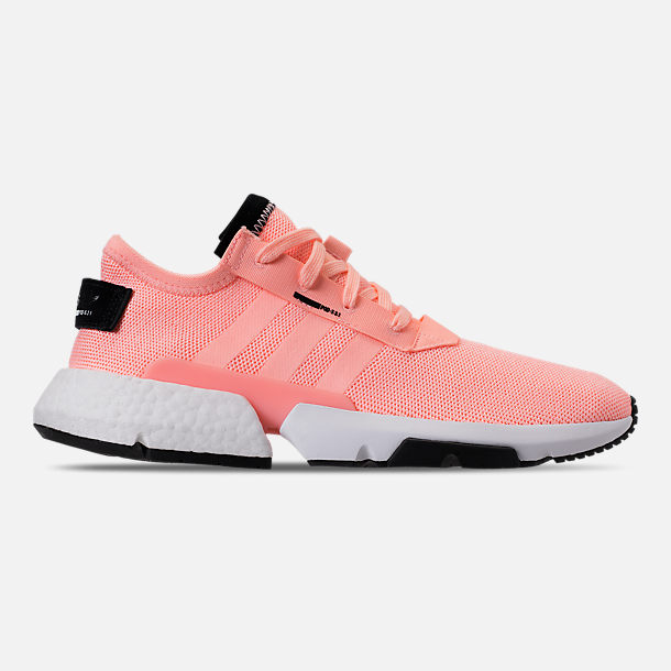 Right view of Men's adidas Originals POD-S3.1 Casual Shoes in Clear Orange/Core Black
