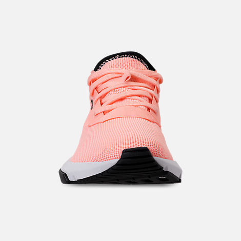 Front view of Men's adidas Originals POD-S3.1 Casual Shoes in Clear Orange/Core Black
