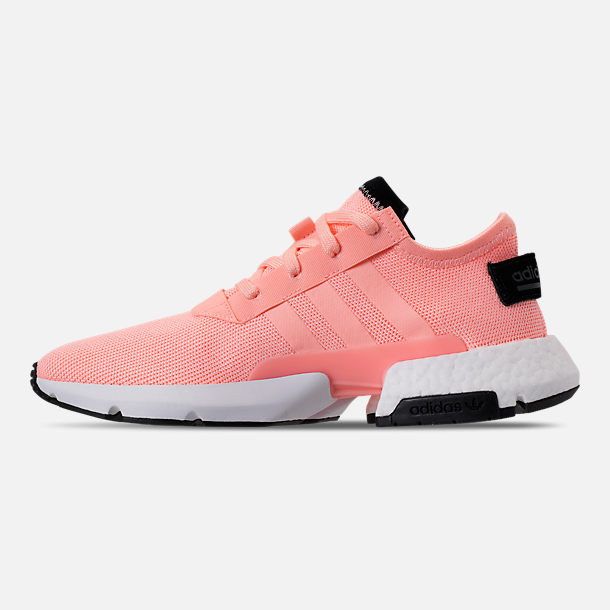 Left view of Men's adidas Originals POD-S3.1 Casual Shoes in Clear Orange/Core Black