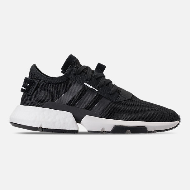 Right view of Men's adidas Originals POD-S3.1 Casual Shoes in Core Black/Footwear White