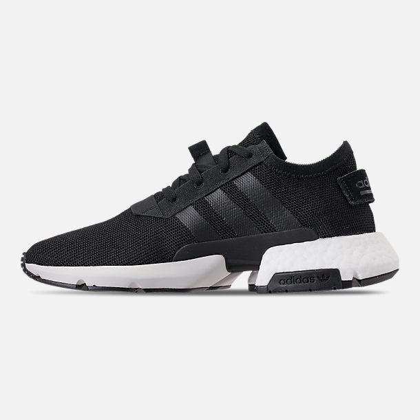 Left view of Men's adidas Originals POD-S3.1 Casual Shoes in Core Black/Footwear White