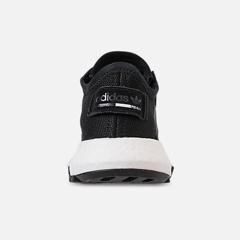 Back view of Men's adidas Originals POD-S3.1 Casual Shoes in Core Black/Footwear White