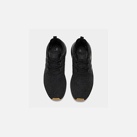 online store e36b1 94983 Back view of Mens adidas Originals XPLR Casual Shoes in Core BlackGum