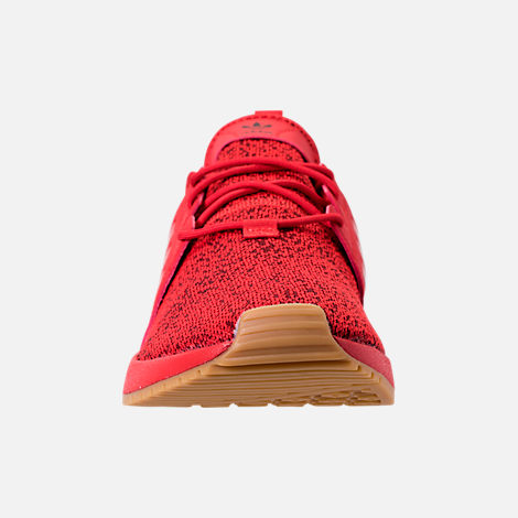 Front view of Men's adidas Originals X_PLR Casual Shoes in Scarlet/Gum