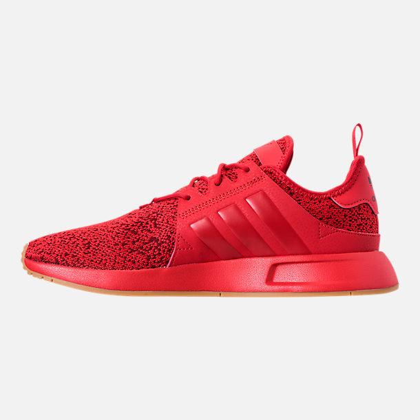 7216dc98b Left view of Men s adidas Originals X PLR Casual Shoes in Scarlet Gum