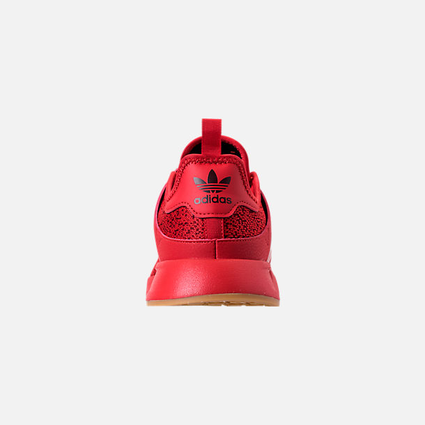 Back view of Men's adidas Originals X_PLR Casual Shoes in Scarlet/Gum