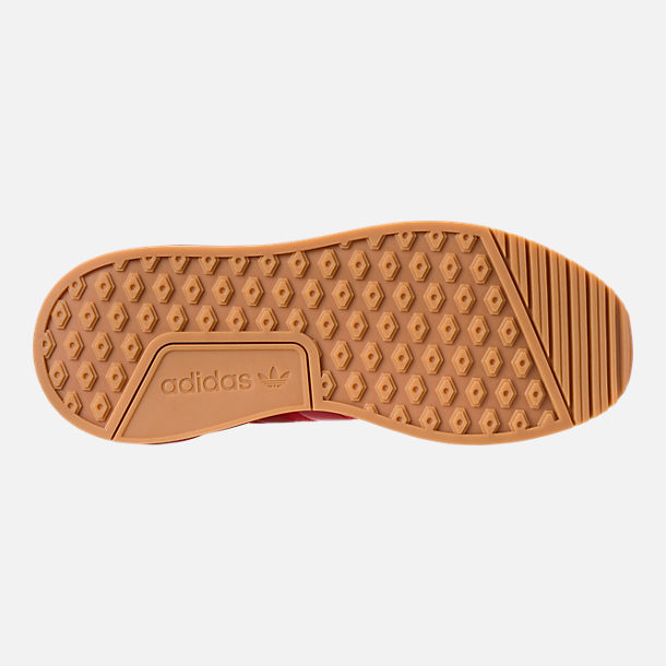 Bottom view of Men's adidas Originals X_PLR Casual Shoes in Scarlet/Gum