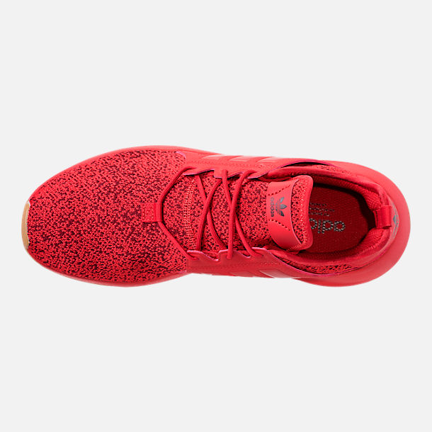 Top view of Men's adidas Originals X_PLR Casual Shoes in Scarlet/Gum