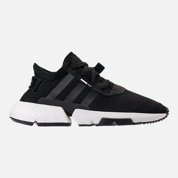 Right view of Women's adidas Originals POD-S3.1 Casual Shoes in Core Black/Core Black/White