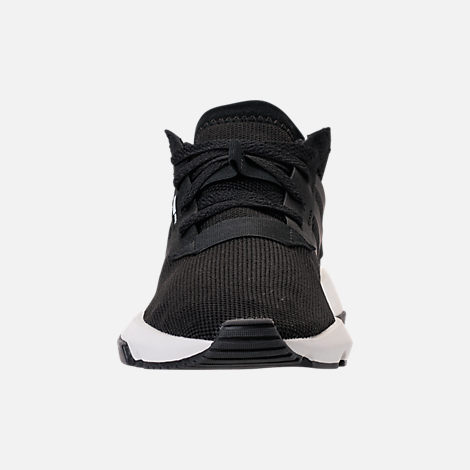 Front view of Women's adidas Originals POD-S3.1 Casual Shoes in Core Black/Core Black/White