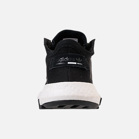 Back view of Women's adidas Originals POD-S3.1 Casual Shoes in Core Black/Core Black/White