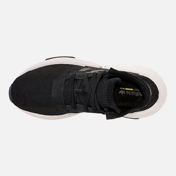 Top view of Women's adidas Originals POD-S3.1 Casual Shoes in Core Black/Core Black/White