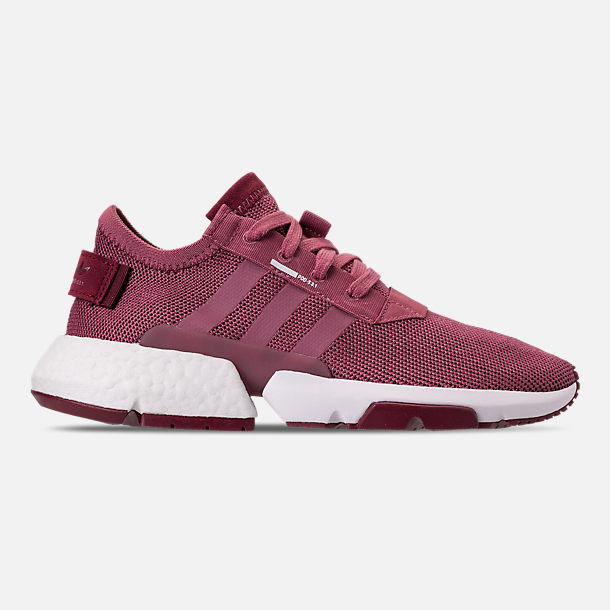 Right view of Women's adidas Originals POD-S3.1 Casual Shoes in Trace Maroon/Trace Maroon