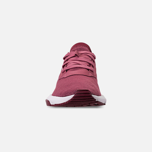 Front view of Women's adidas Originals POD-S3.1 Casual Shoes in Trace Maroon/Trace Maroon