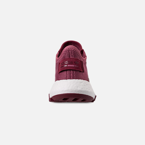 Back view of Women's adidas Originals POD-S3.1 Casual Shoes in Trace Maroon/Trace Maroon
