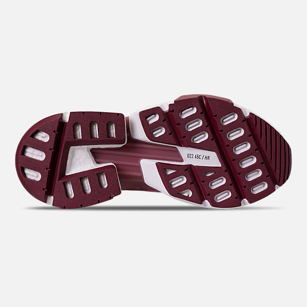 Bottom view of Women's adidas Originals POD-S3.1 Casual Shoes in Trace Maroon/Trace Maroon