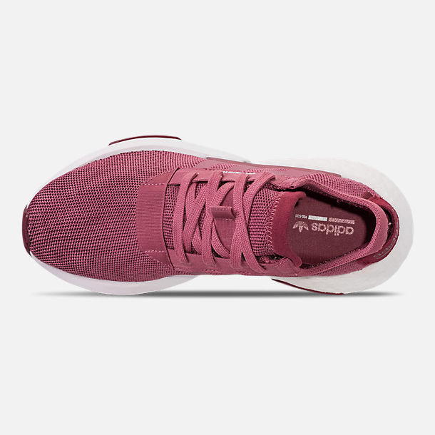 Top view of Women's adidas Originals POD-S3.1 Casual Shoes in Trace Maroon/Trace Maroon