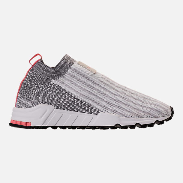 Right view of Women s adidas Originals EQT Support RF Sock Primeknit Casual  Shoes in White  3edbb592d