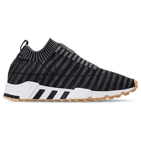 Women'S Originals Eqt Support Rf Sock Primeknit Casual Shoes, Black in Grey from Finish Line