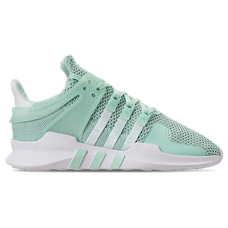 WOMEN'S EQT SUPPORT ADV CASUAL SHOES, GREEN