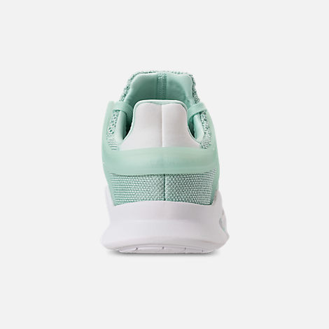 Back view of Women's adidas EQT Support ADV Casual Shoes in Clear Mint/White/Hi-Res Aqua