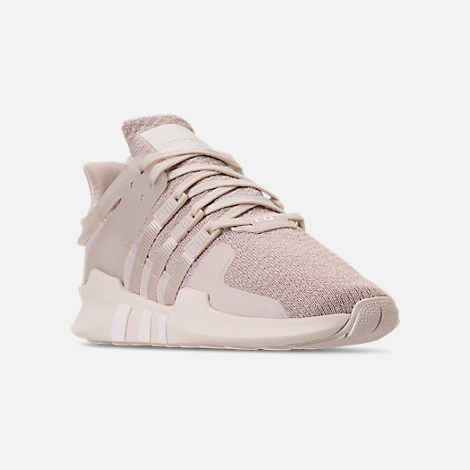 ba0b20d9c1ed Three Quarter view of Women s adidas EQT Support ADV Casual Shoes in Clear  Brown Off