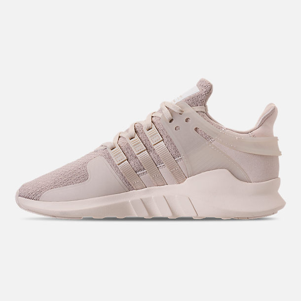 19d4f3ecf2d3 Left view of Women s adidas EQT Support ADV Casual Shoes in Clear Brown Off  White