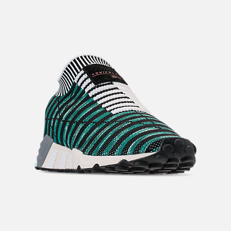 5aac8fbe201f Three Quarter view of Women s adidas Originals EQT Support RF Sock  Primeknit Casual Shoes in Glow