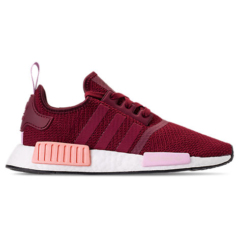Women'S Nmd R1 Casual Shoes, Red in Bordeaux College