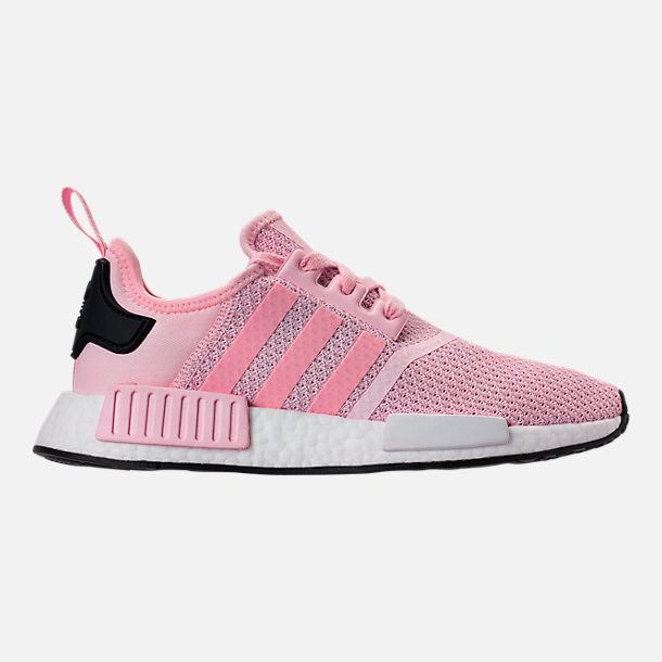 bdfbb94594a Right view of Women s adidas NMD R1 Casual Shoes in Clear Pink White Core