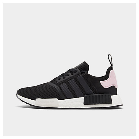 Nmd R1 Rubber-Trimmed Primeknit Sneakers, Black