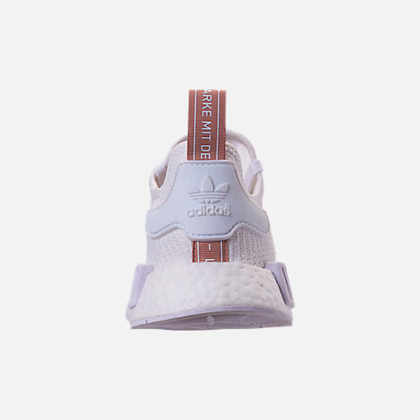 Back view of Women's adidas NMD R1 Casual Shoes in White/Copper