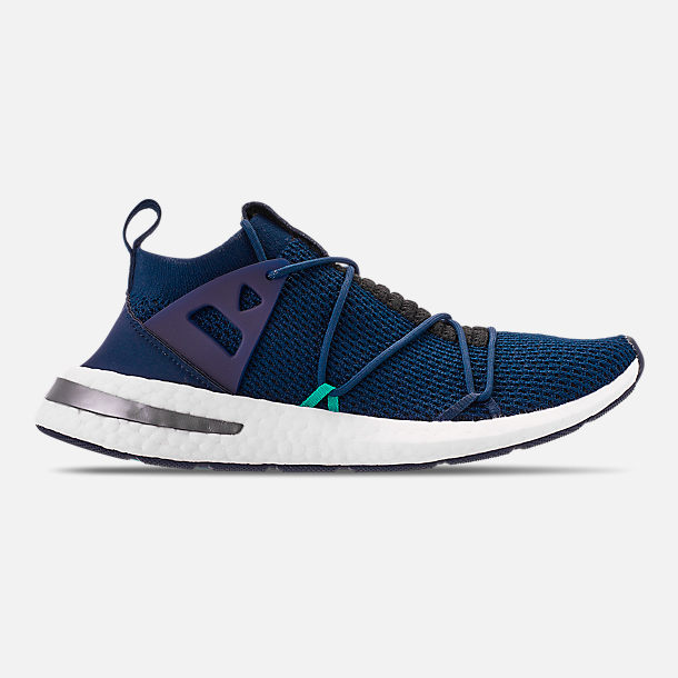 Right view of Women s adidas Originals Arkyn Boost Casual Shoes in  Collegiate Navy Collegiate Navy 5208311c20