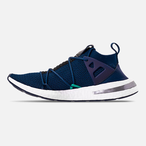 Left view of Women s adidas Originals Arkyn Boost Casual Shoes in  Collegiate Navy Collegiate Navy 7b698fd909