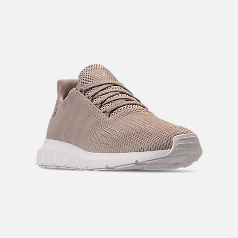 b486b35b7628 Three Quarter view of Women s adidas Swift Run Casual Shoes in Vapour Grey Vapour  Grey