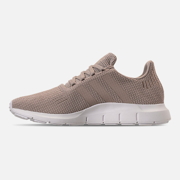 Left view of Women's adidas Swift Run Casual Shoes in Vapour Grey/Vapour Grey/Footwear White