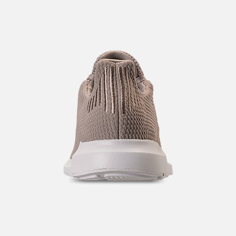 Back view of Women's adidas Swift Run Casual Shoes in Vapour Grey/Vapour Grey/Footwear White