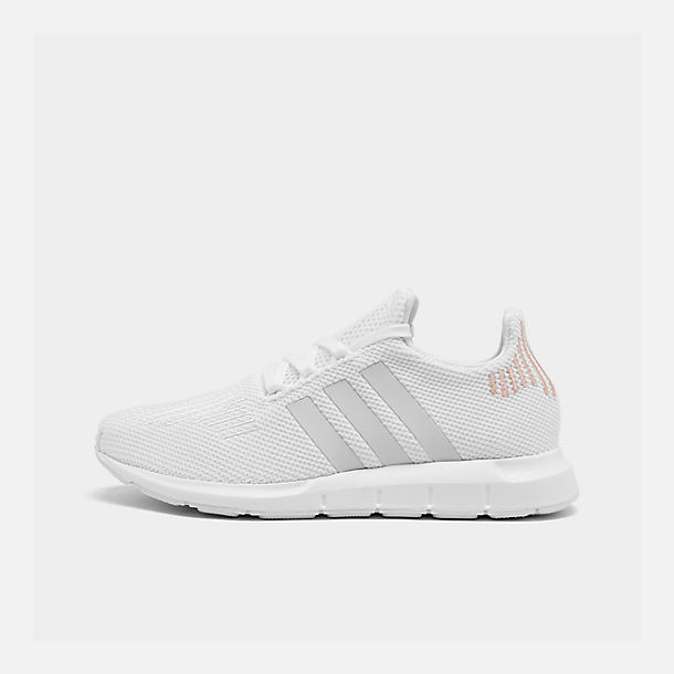 ab1d09bda92 Right view of Women s adidas Swift Run Primeknit Casual Shoes in Footwear  White Crystal White