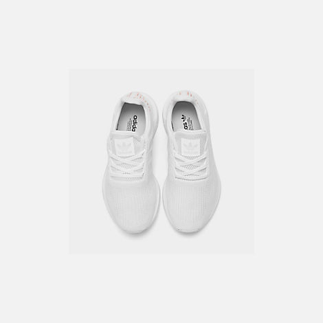 quality design 47c25 36a84 Back view of Womens adidas Swift Run Primeknit Casual Shoes in Footwear  WhiteCrystal White