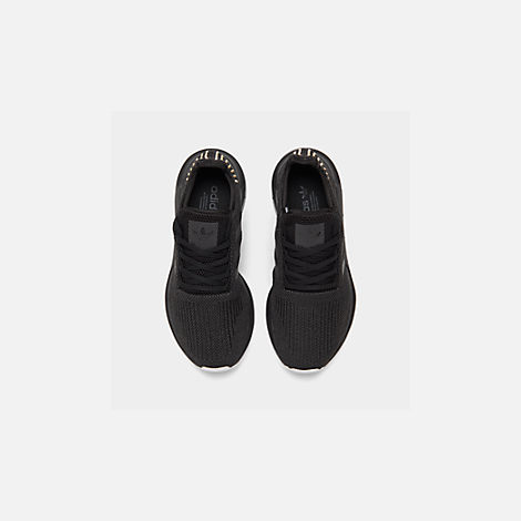 e201d7489 Back view of Women s adidas Swift Run Casual Shoes in Core Black  Carbon White