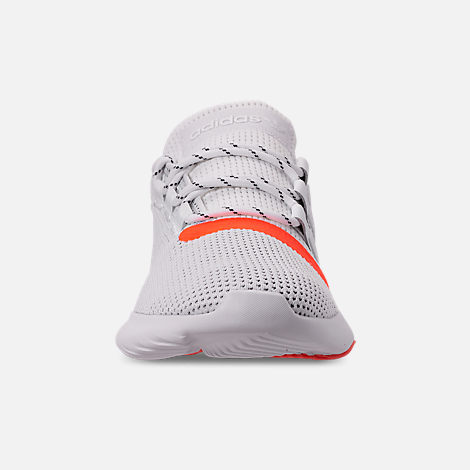 Front view of Men's adidas Tubular Dusk Casual Shoes in Footwear White/Solar Red/Core Black