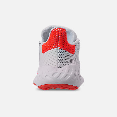 Back view of Men's adidas Tubular Dusk Casual Shoes in Footwear White/Solar Red/Core Black